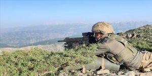 Siirt'te terör örgütü PKK'ya yönelik operasyon