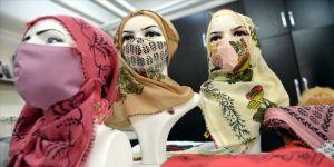 Tokat'ın 600 yıllık geleneksel el baskısı, maskeleri süslüyor