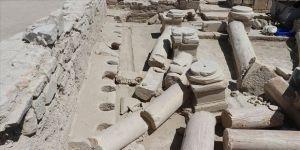 Denizli'deki 2 bin yıllık umumi tuvalet turizme kazandırılacak