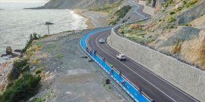 Hatay'ın 26 kilometrelik bisiklet yolu spor ve doğa turizmini hareketlendirecek