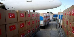 Türkiye'den KKTC, Azerbaycan, Kırgızistan ve Kazakistan'a Kovid-19 sürecinde tıbbi malzeme yardımı