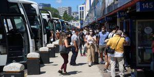 Otobüsçüler bayramda, geçen yıllara göre yüzde 60 daha az yolcu taşıdı
