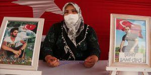 Diyarbakır annelerinden Çiftçi: Oğlum, senin yerin orası değil. Kardeşin, PKK tarafından öldürüldü