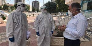 'Öğretmen-polis omuz omuza' salgınla mücadelede hasta takibinde