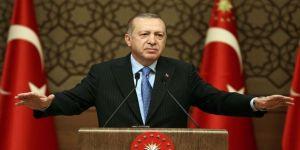 Cumhurbaşkanı Erdoğan'dan maskeyi çenesinin altına takanlara uyarı