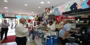 Büyükgöz'den hafta sonu esnaf ziyaretleri