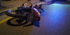 Gebze'de feci kaza ! Motosiklet devrildi bir kişi hayatını kaybetti