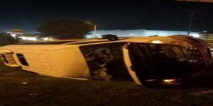 Gebze'de kaza ! Altı kişi yaralandı