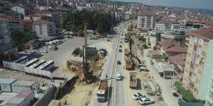 Kent Meydanı Köprülü Kavşağı'nda altyapı imalatına başlanacak