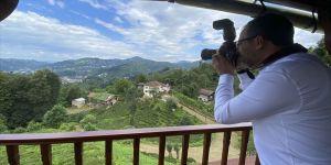 Bakan Kasapoğlu Rize'nin doğal güzelliklerini fotoğrafladı