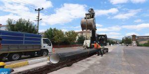 Kocaeli'de altyapı yatırımlarına hız kesmeden devam