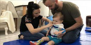 Tedavisi için zamanı daralan küçük SMA hastasının ailesi desteğin sürmesini bekliyor