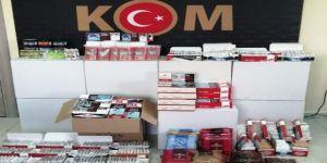 Gebze ve Çayırova'da kaçak tütün ele geçirildi