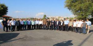 Refah Partisi Gençlik Kolları,Ayasofya'da Sabah Namazı Programı Düzenledi