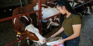 Kadın çiftçi hayallerine 'uzman ellerle' ulaştı