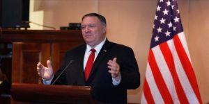 ABD Dışişleri Bakanı Pompeo'dan Trump'ın İsrail politikasına övgü