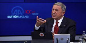 Milli Savunma Bakanı Akar: Hak ve menfaatlerimizi korumak, kollamak konusunda azimliyiz, kararlıyız, muktediriz
