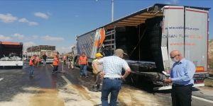 Gebze'de kaza ! Üç araç birbirine girdi