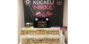 Kocaeli'de Narkotik Köpeği Alfa yakalattı