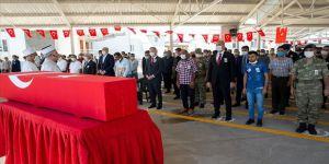 Şehit er Ümit Çıkın Gaziantep'te son yolculuğuna uğurlandı