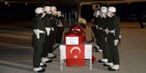 Ağrı'da şehit olan uzman çavuşlar için Erzurum'da tören düzenlendi