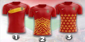 Yeni Malatyaspor'un yeni sezon formalarından birini taraftarlar seçecek