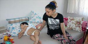 Minik Berat'ın ailesi çocuklarının sağlığına kavuşacağı günü bekliyor