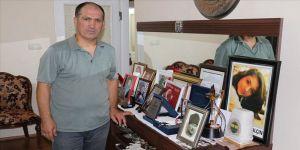 Şehit Aybüke öğretmenin babası Sadık Yalçın: PKK denilen lanet çok anneyi babayı boynu bükük bıraktı