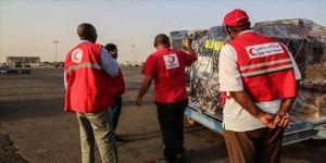 Türk Kızılayı ve Katar Kızılayından Sudan'ın Kovid-19'la mücadelesine destek