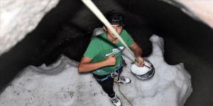Kayseri'de 'kar kuyusu' geleneği asırlardır yaşatılıyor