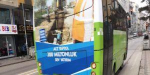 Gebze'de halk otobüs şöförleri dertli