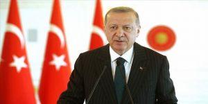 Cumhurbaşkanı Erdoğan Bursa'nın kurtuluş yıl dönümünü kutladı
