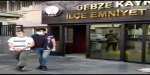 Gebze'de evden hırsızlık yapan zanlı yakalandı