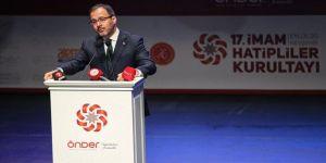 Bakan Kasapoğlu: İmam hatipler bu ülkenin iftihar vesilesi, gözbebeği