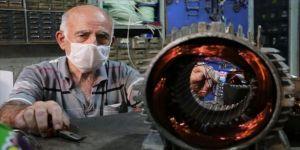 Siirtli bobinaj ustası mesleğini 55 yıldır sürdürüyor
