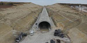 Halkalı-Kapıkule 'hızlı' demir yolu hattının yapımı sürüyor