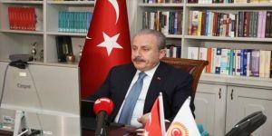 TBMM Başkanı Şentop, Türkmenistan Meclis Başkanı Mammedova ile görüştü