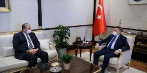 Cumhurbaşkanı Yardımcısı Oktay, MÜSİAD Başkanı Kaan'ı kabul etti