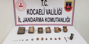 Kocaeli Tarihi eserleri satmaya çalışan 5 kişi yakalandı!