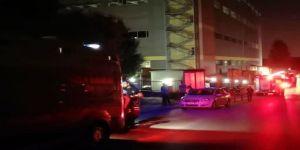 Kozmetik fabrikasında çıkan yangın panik yarattı