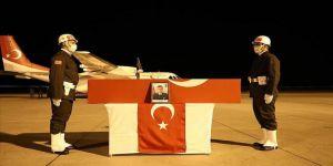 Irak'ın kuzeyinde şehit olan Teğmen Harun Aslan'ın cenazesi memleketi Ağrı'ya getirildi
