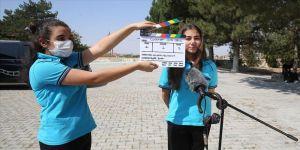 Köy okullarındaki çocuklar kendi hikayelerini çekiyor
