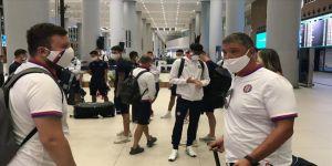 Galatasaray'ın rakibi Hajduk Split İstanbul'a geldi