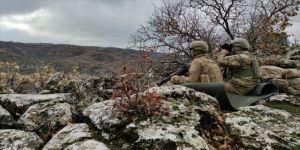 Van'da jandarmanın ikna çalışmaları sonucu PKK'lı bir terörist teslim oldu