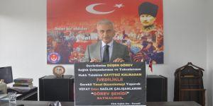 """Türkiye Kamu Sen , """"Ek ödeme düzenlemesinde hayal kırıklığı oldu""""dedi."""