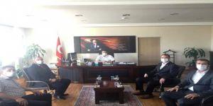 MHP Dilovası İlçe Teşkilatından Kaymakam Alkan'a Ziyaret