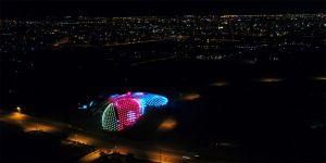 Konya Tropikal Kelebek Bahçesi, Azerbaycan bayrağı renklerine büründü