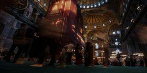 Ayasofya-i Kebir Camii'ni 1,5 milyonun üzerinde kişi ziyaret etti