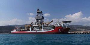Kanuni sondaj gemisinin Mersin'deki 'molası' sürüyor