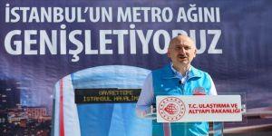 Bakan Karaismailoğlu: Kağıthane-Gayrettepe Havalimanı Metro Hattı nisan sonu yolcu alacak